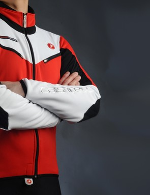 The Casteli Mannaggia jacket blends moto-inspired styling, quality fabrics and a skin-tight fit