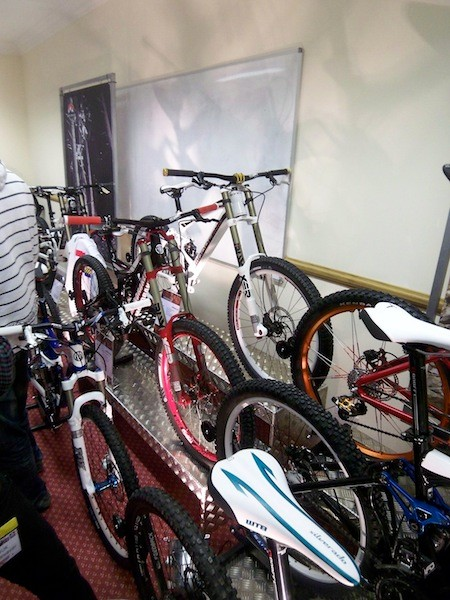 Mondraker – An impressive stand with what could be the bikes to watch out for this year when you're out and about