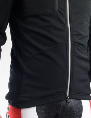 The fit is snug so there isn't room beneath for anything other than a base layer but the impressive insulation means you'll rarely need anything more