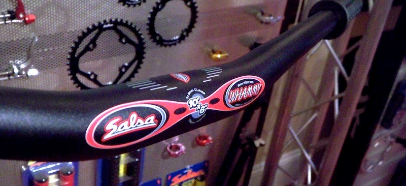 Salsa Whammy Bars – These are new to the range and measure an impressive 780mm as standard