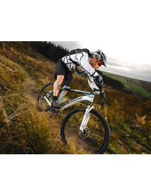 The CXR is ready to attack trails despite being a race-ready bike