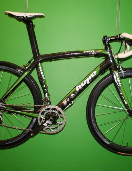Hope-equipped road bike