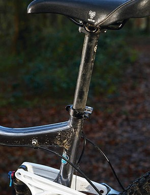 A steep seat angle is great for steep climbing but some riders will prefer a layback seatpost for a more rearward feel