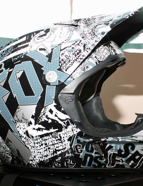 Fox V3R full-face helmet