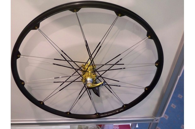 Crank Bros wheels - the ultimate bling