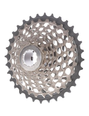 SRAM brings the stunning X-Dome cassette technology of its flagship XX group down to 9-speed users with the introduction of the new XG999 model.