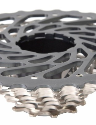 The largest cog is made of machined aluminum and will be individually replaceable.