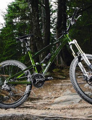 We fell in love with the big green Covert — it's a stunning trail bike