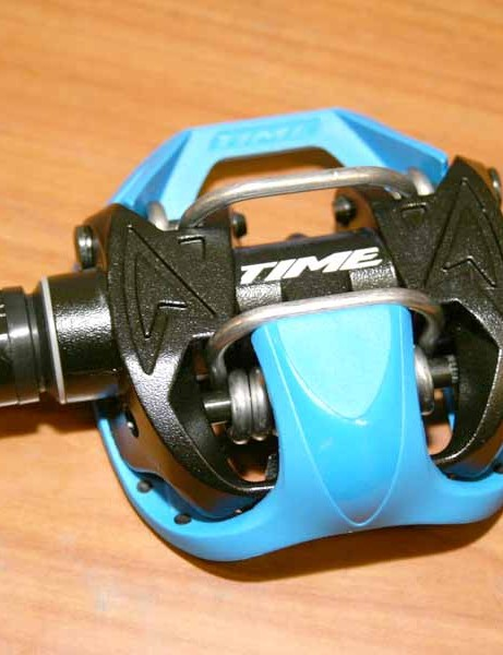 Time's AllRoad pedals feature an ATAC style clipless system on one side...