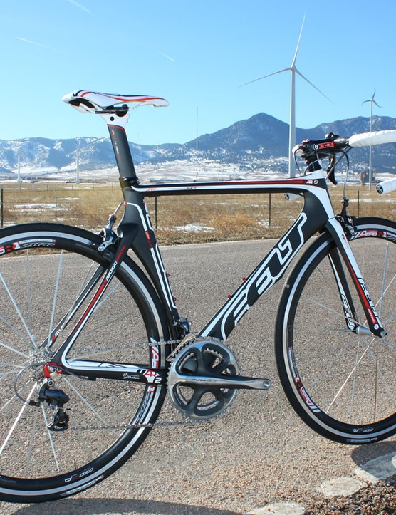 Felt has increased the stiffness of the latest AR-series bikes for 2010, making them more in keeping with the F-series line