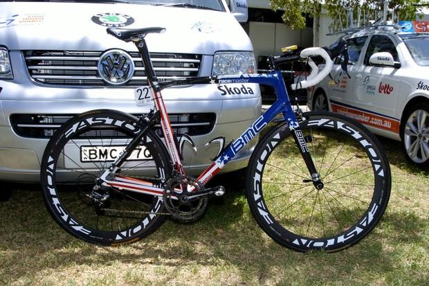 George Hincapie's BMC SLX01 RaceMaster