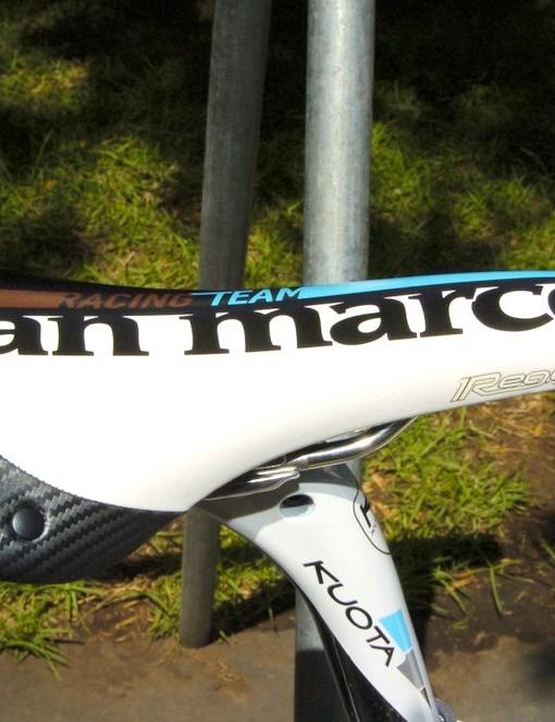 Selle San Marco Regal (complete in Ag2R La Mondiale colours)