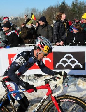 American champion Tim Johnson (USA) moved up dramatically to finish 14th in Tabor.