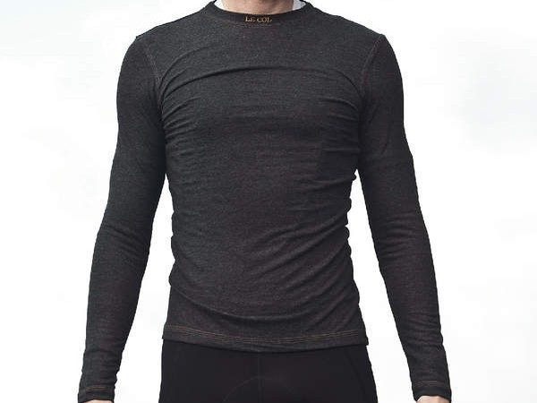 Le Col full thermal angora long sleeved undervest