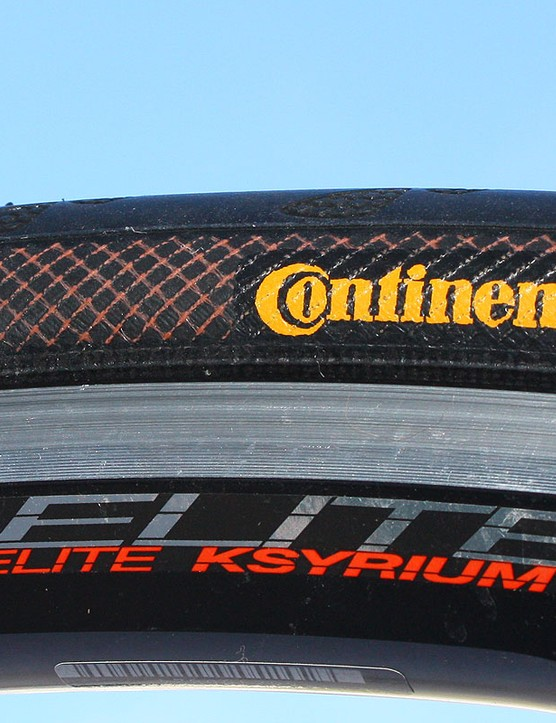 Continental's Ultra Gatorskin tire already uses a Duraskin-reinforced casing and a breaker belt beneath the tread but the Gator Hardshell does one better by using a full-width - instead of half-width - belt that protects tread even when cornering.