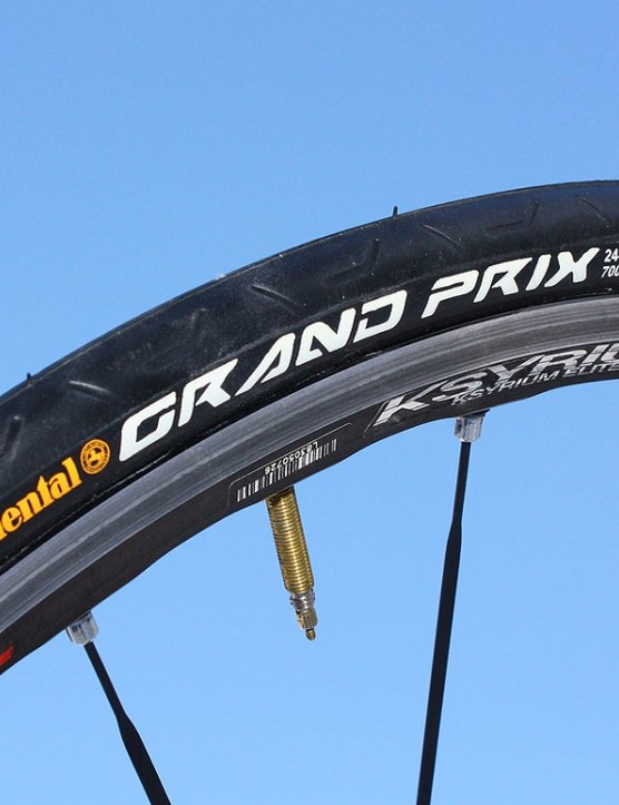 Recently added wider formats to the Grand Prix range offer a more comfortable ride and better grip than before.
