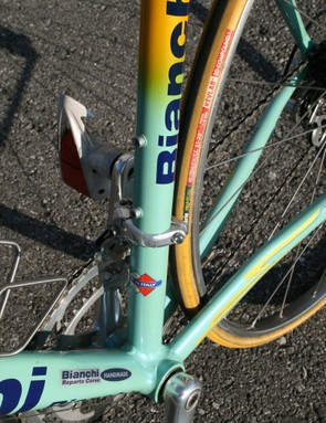 The round seat tube looks decidedly traditional compared to modern aero shapes