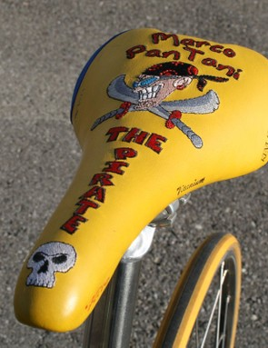 Pantani's trademark attacking style and bandana earned him one of the most memorable nicknames in cycling