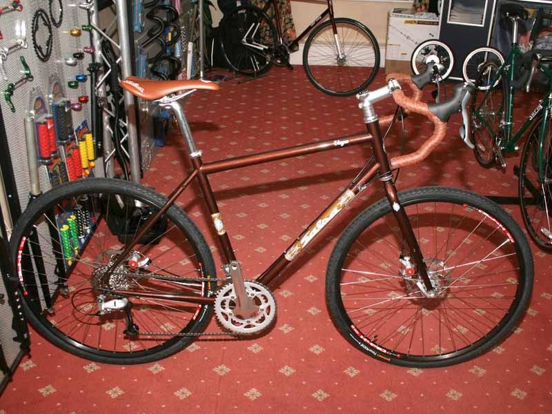 The Salsa Vaya road adventure bike