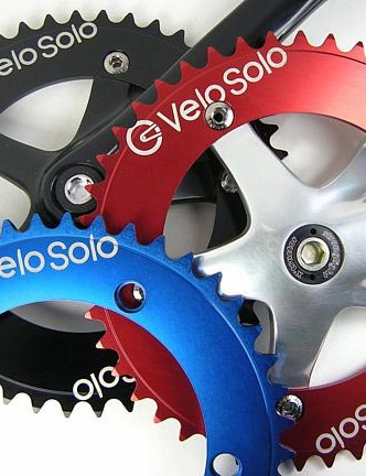 VeloSolo's new track chainring