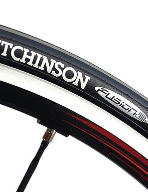 French Hutchinson tyres were the only major build parts that weren't Italian