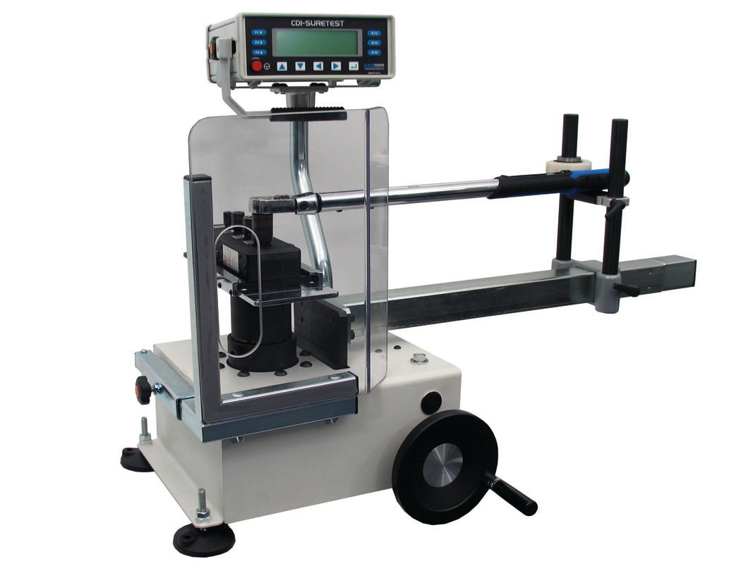 JH Williams Tool Group/CDI Torque Products' torque measuring apparatus readily demonstrates how much variance there can be in 'mechanic's feel' when it comes to torque