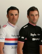 British national champion Kristian House (c) heads the Rapha Condor Sharp team for 2010