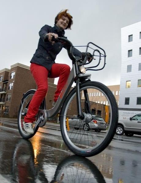 Bike-sharing hits Minneapolis streets