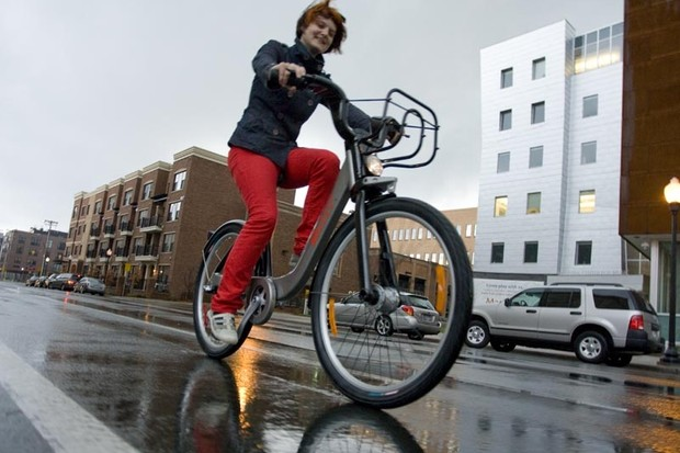Bike-sharing hits Minneapolis streets