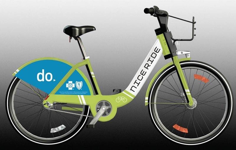 Proposed Nice Ride bike design