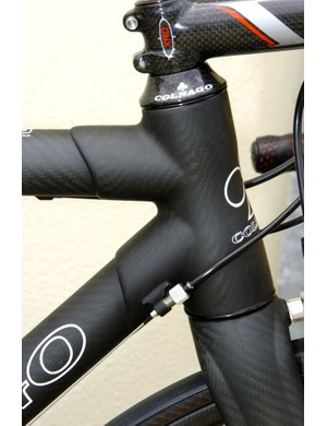 Matte black and lugged carbon