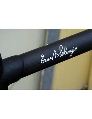 The name behind the bike!