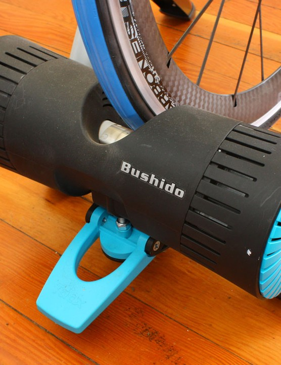 The electronic resistance unit requires no external power - it derives its braking energy from your own pedaling