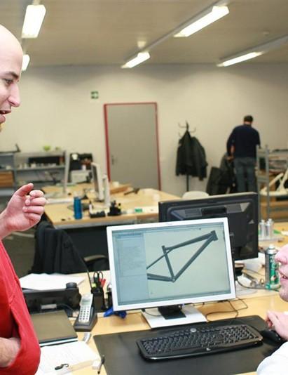 Roger Rinderknecht at BMC's Swiss HQ