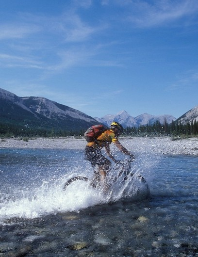 The race finishes at the edge of Banff National park on August 10th.