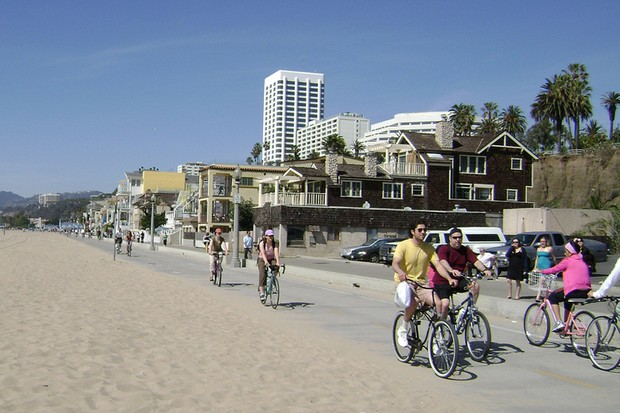 Cyclists may be well served in some areas of Los Angeles like Venice Beach, but they say in other parts of the city they are continually harassed by motorists