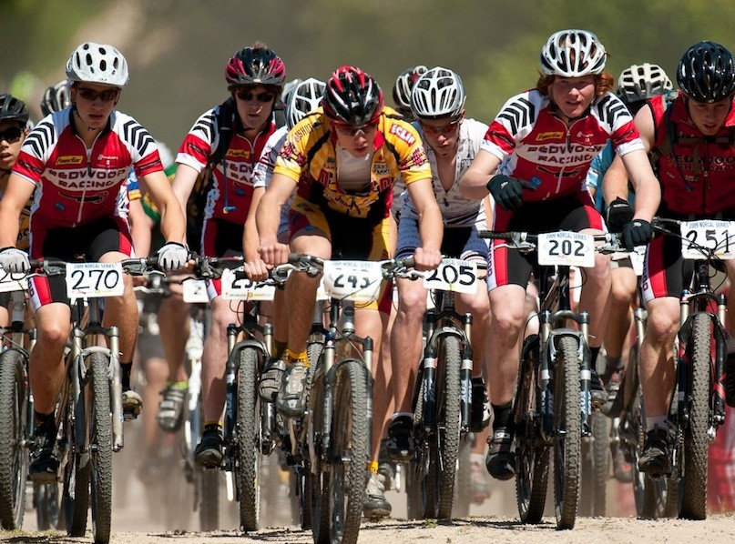 Is this the junior varsity boys race, or the start of a World Cup.