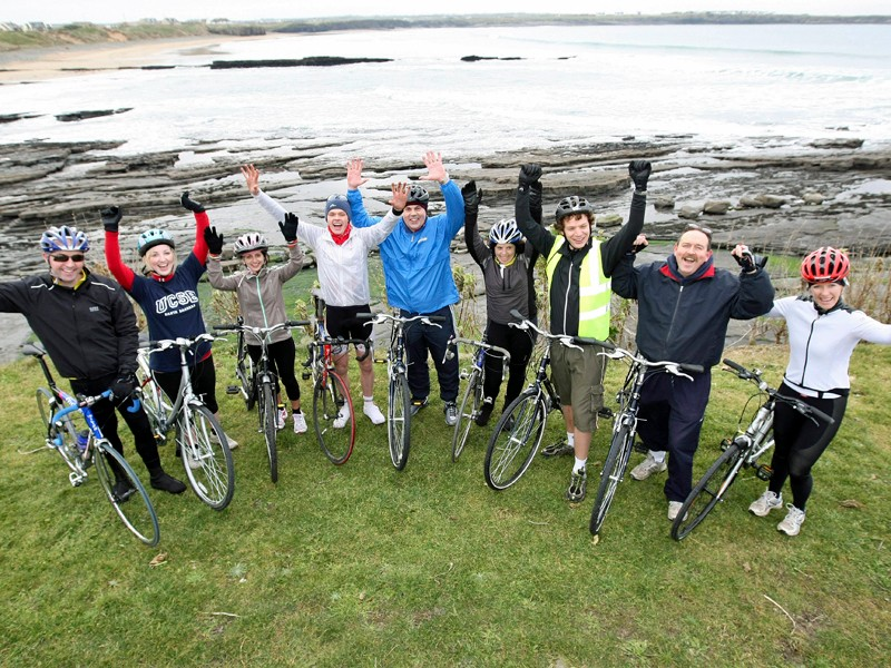 The Sky Ride Etape Hibernia will be Ireland's first closed road cycling event