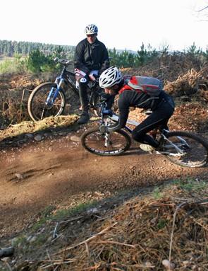 Matt shows he's not just quick up hills