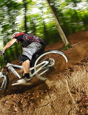 or downhill, run your suspension with  25-30 per cent sag