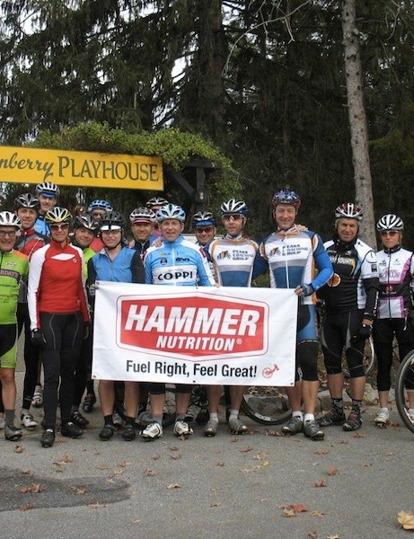 Peaks Coaching Group's power camp in the Blue Ridge mountains