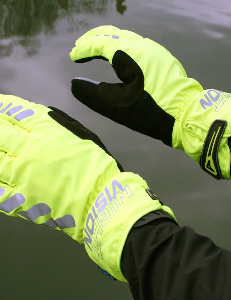 Motorists should see these alot more clearly than our black gloves