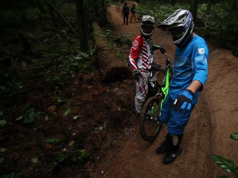 Sam Hill and Thomas Vanderham take on Vancouver's North Shore in the new film Follow Me