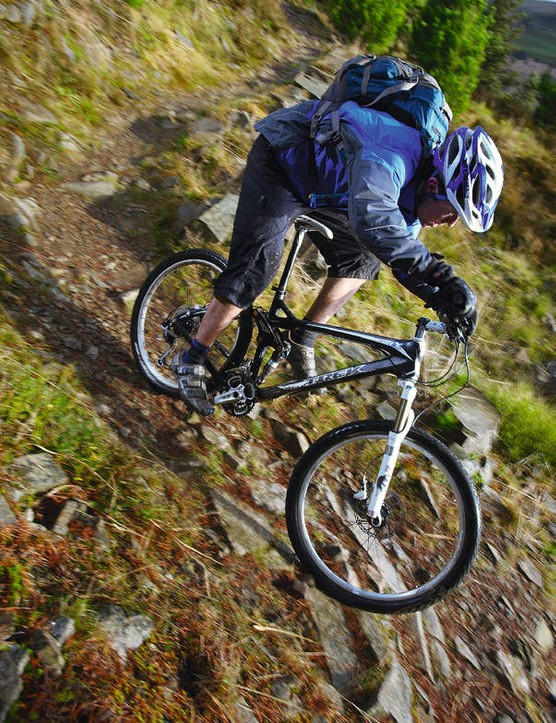 Fast rolling tyres and low weight make the trek feel outstandingly quick