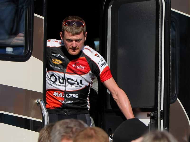 An international arrest warrant has been put out for Floyd Landis