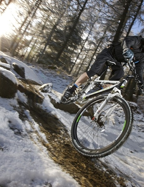 We tried out models from Ghost's 2010 range on the snow covered trails at Glentress in Scotland