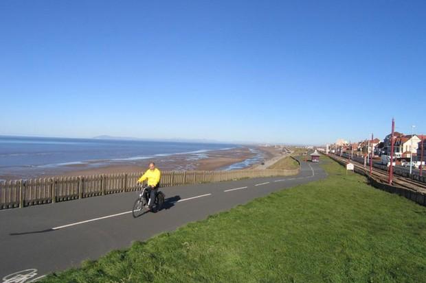 Lytham Blackpool Fleetwood promenade