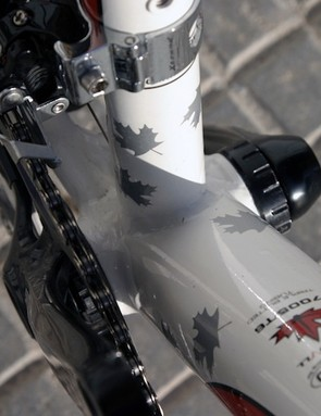 SRAM say the reduced Q-factor offered by a double is one of the big advantages of compact set-ups over triples.