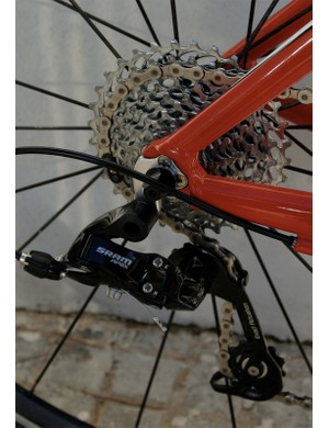 The new PG-1050 11-32 cassette owes a lot to SRAM's mountain bike equivalents.