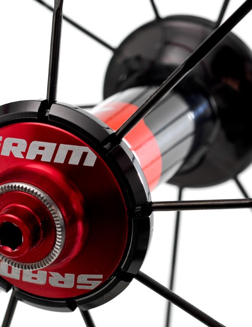 Top of the S series line, the Race model gets some extra touches of red anodising on the hubs.